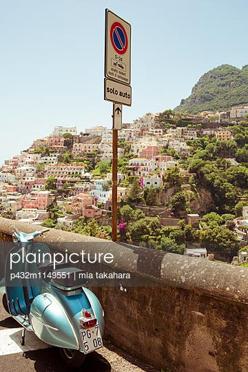 Schöne Aussicht in Positano - p432m1149551 von mia takahara