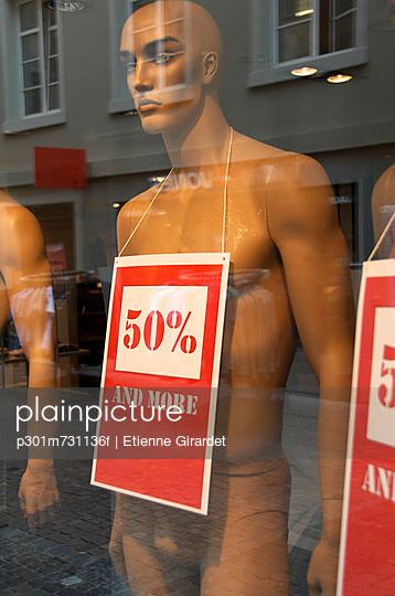 Mannequin advertising sale