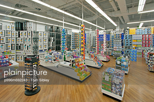 Checkout Area Of Major Big Box Store, Bed Bath Beyond