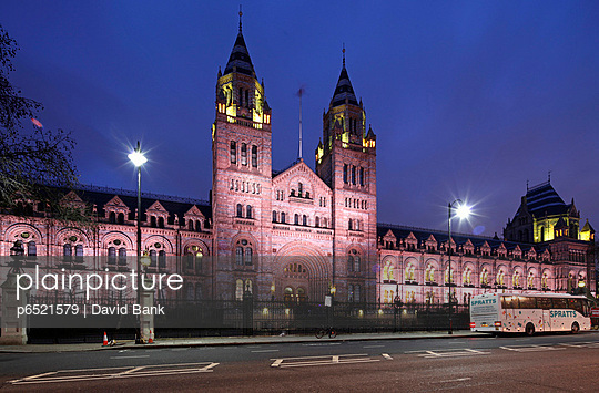 The National History Museum in London Kensington