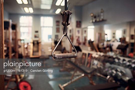 Bodybuiling-Studio - p1200m1161319 von Carsten Görling