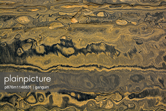 sand_schwarz gelb_02 - p876m1146831 von ganguin