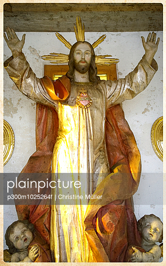 Jesus statue, Upper Franconia, Germany