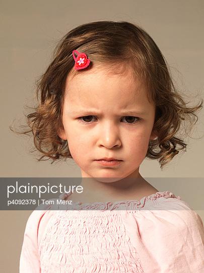 Little angry girl