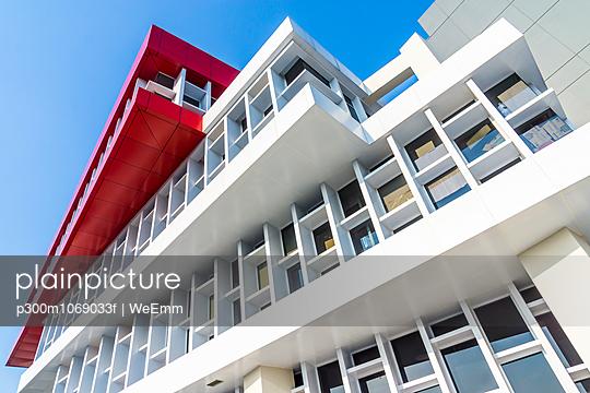 Indonesia, Jakarta, modern office buildung, facade