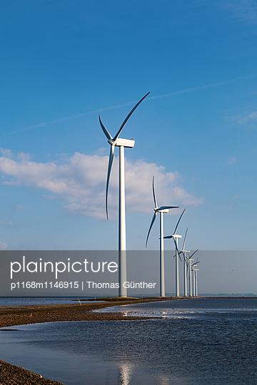 Offshore Windpark - p1168m1146915 von Thomas Günther