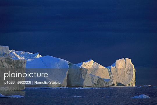 Icebergs in Arctic Ocean, Greenland