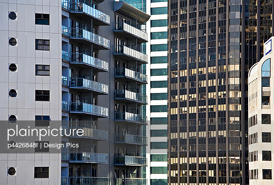 High rise towers, Auckland, New Zealand