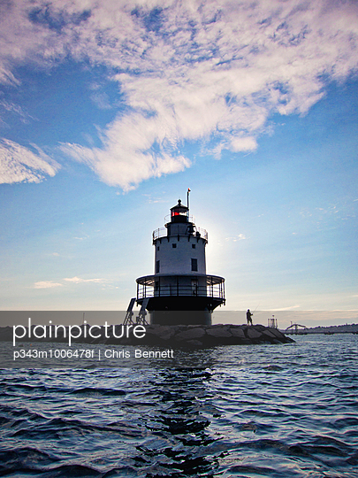 Spring Point Lighthouse, South Portland, Maine.