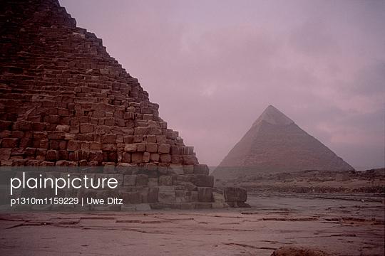 Pyramiden von Gizeh - p1310m1159229 von Uwe Ditz