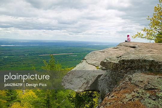 Artist Rock, Catskill Mountains, New York, USA