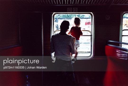 Fahrt mit dem Zug - p972m1160335 von Johan Warden