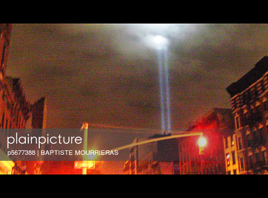 World Trade Centre light beam
