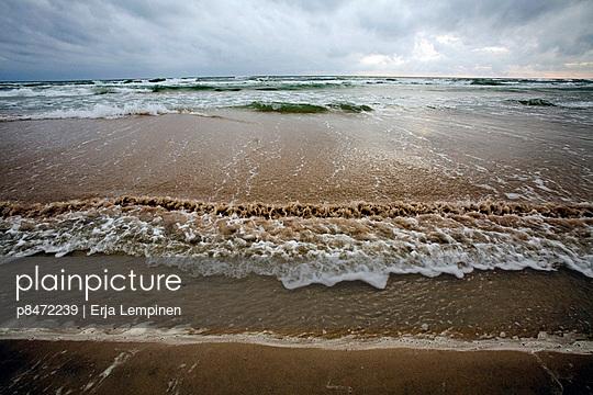 Water Surfing In Beach, Gotska Sandön, Sweden