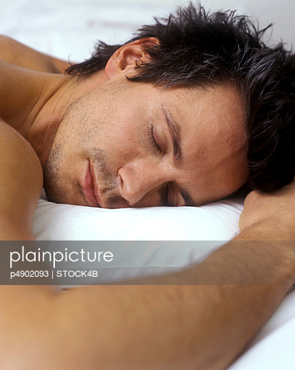 Sleeping Man - Recreation