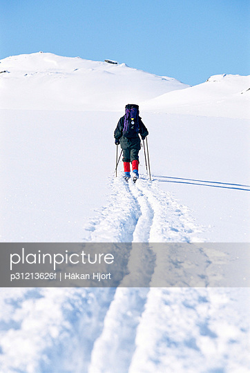 Cross-country skiing track