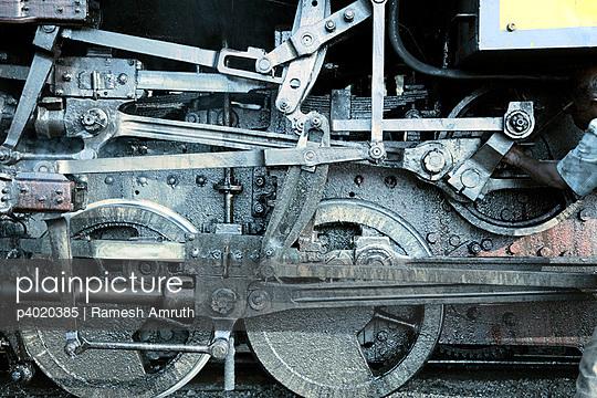 Blue Mountain steam engine
