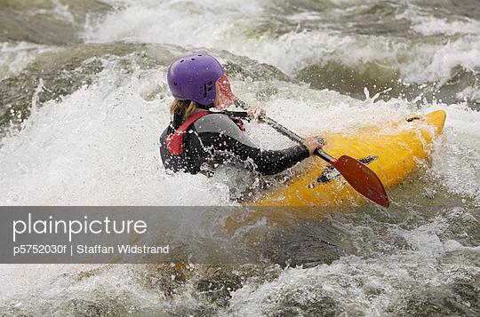 White water kayaking Sweden