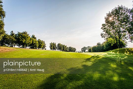 Golfclub, Niedersachsen, Norddeutschland, Deutschland - p1316m1160642 von Arnt Haug