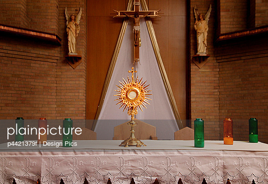 Catholic alter