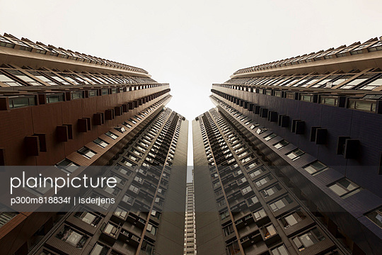 View of high rise at Sheung Wan
