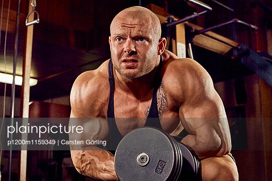 Bodybuilding - p1200m1159349 von Carsten Görling
