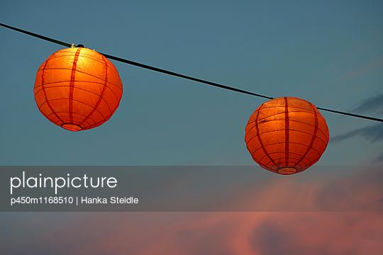 Lampions - p450m1168510 von Hanka Steidle