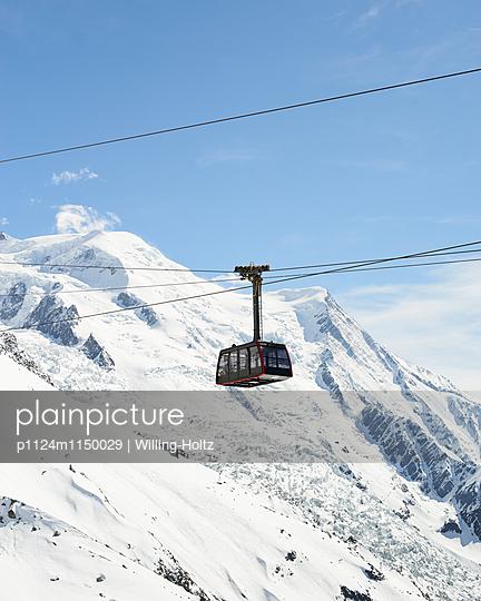 Seilbahn am Mont Blanc - p1124m1150029 von Willing-Holtz