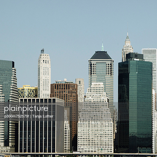 USA, New York, View of high rise building