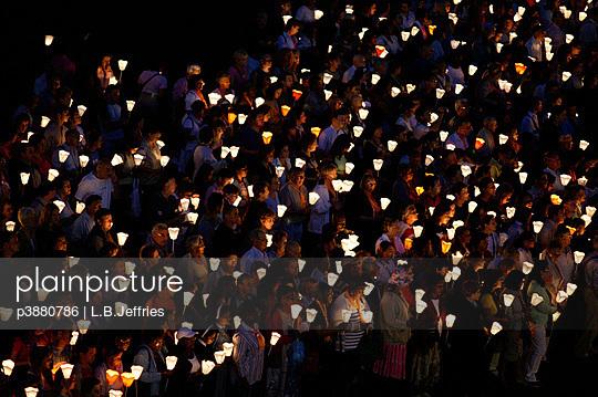 Candle-lit demonstration