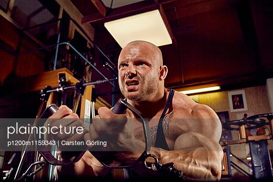 Bodybuilding - p1200m1159343 von Carsten Görling