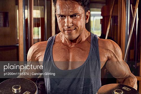 Bodybuilding - p1200m1161374 von Carsten Görling