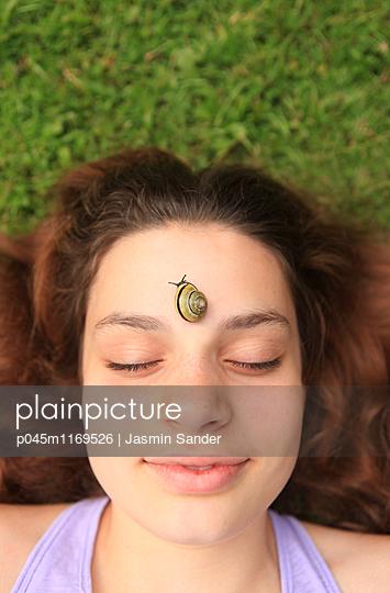Schneckchen - p045m1169526 von Jasmin Sander