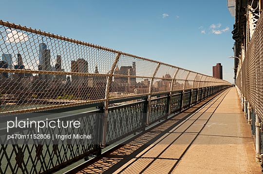Manhattan Bridge - p470m1152806 von Ingrid Michel