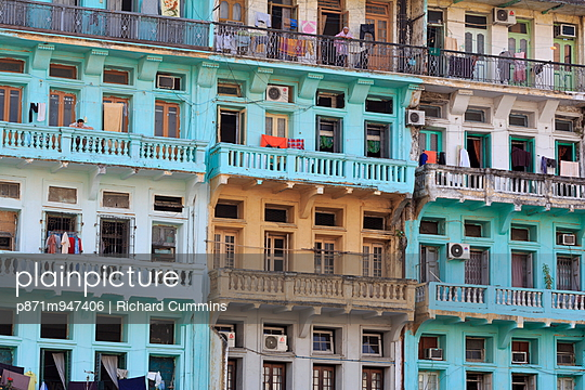 Colonial architecture on Sule Pagoda Road, Yangon (Rangoon), Myanmar (Burma), Asia