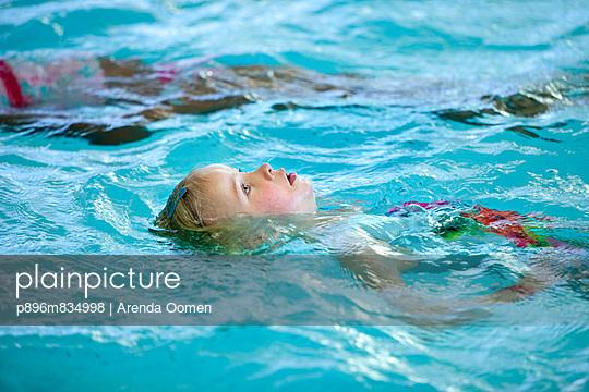 Swimming lessons for children