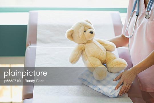 Nurse with Teddy Bear