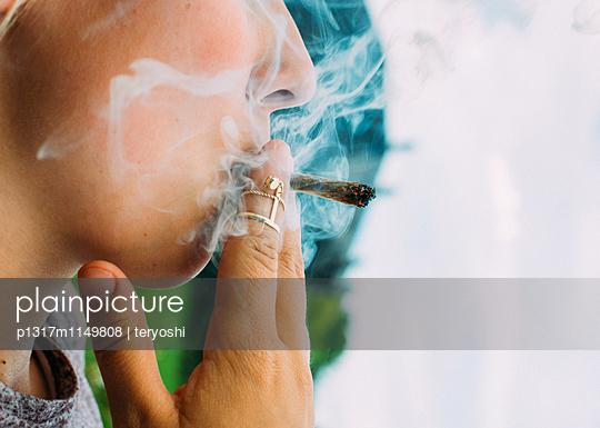 Ich rauch mein Ganja - p1317m1149808 von teryoshi