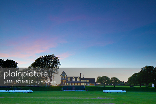 Cricket Pavilion, Marlborough College. This project involved the erection of a three storey extension and internal remodelling of this historic Victorian cricket pavilion, originally designed by Alfred Waterhouse.