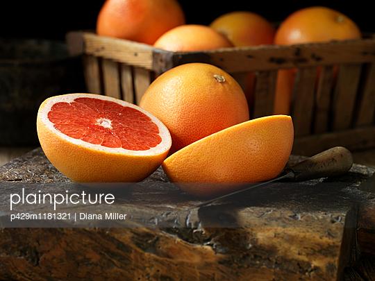 Fresh organic fruit, red grapefruit