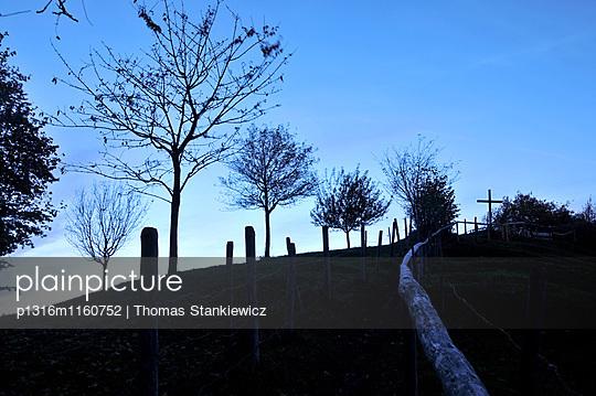 Abends über Pfronten, Ostallgäu, Schwaben, Bayern, Deutschland - p1316m1160752 von Thomas Stankiewicz