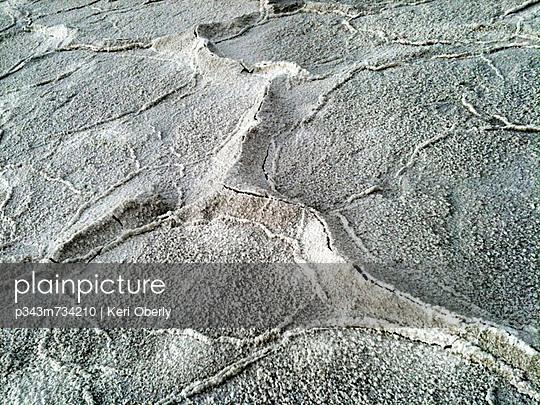 Salt flats in Death Valley National Park, CA.