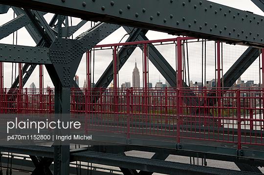 Williamsburg Bridge - p470m1152800 von Ingrid Michel