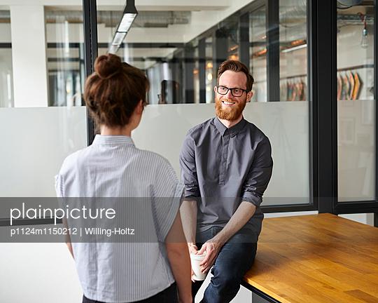 Besprechung im Startup - p1124m1150212 von Willing-Holtz