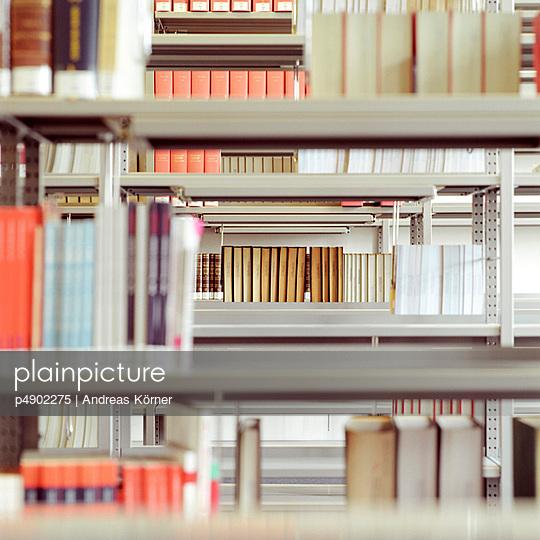 Shelves full of Books