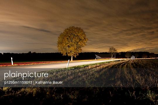 Straße bei Nacht - p1295m1159013 von Katharina Bauer