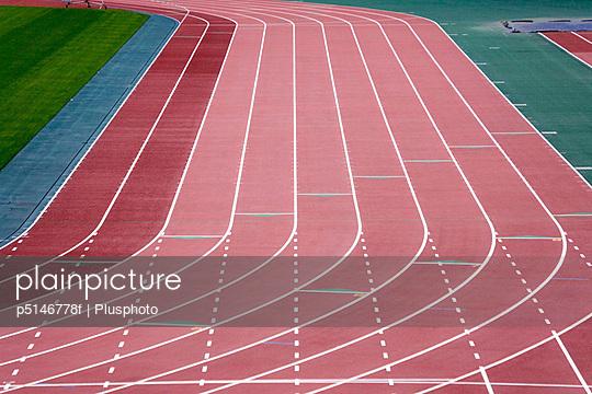 Running track, Kanagawa Prefecture, Japan