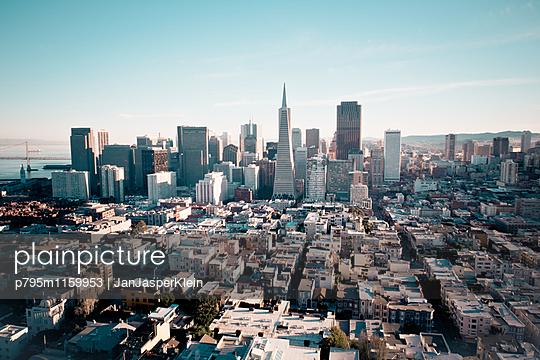 Skyline San Francisco - p795m1159953 von Janklein