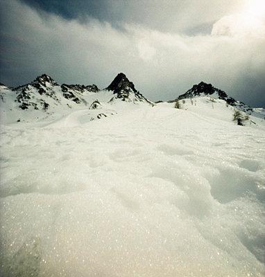 Schnee am Gipfel - p5679763 von Christophe Boete
