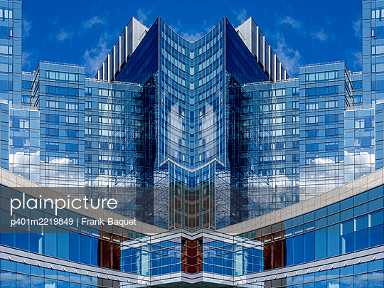 Abstract Architecture Reflection Boston - p401m2219849 by Frank Baquet